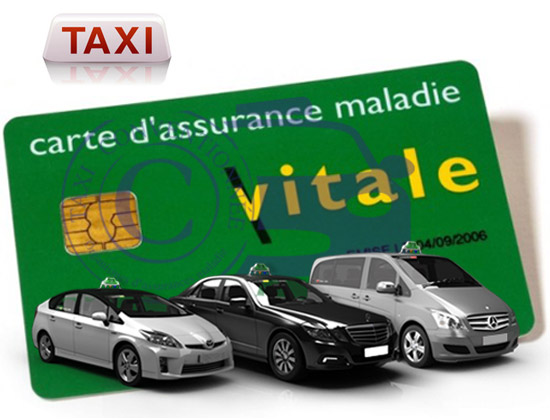 taxi conventionne paris