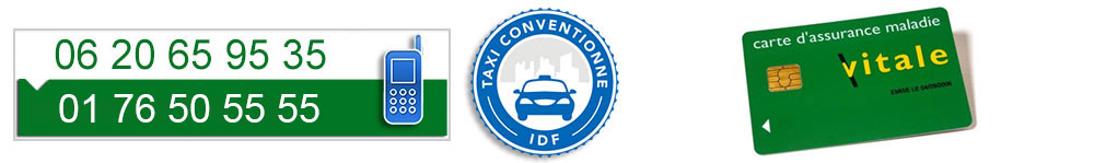 taxis conventionnes idf 77