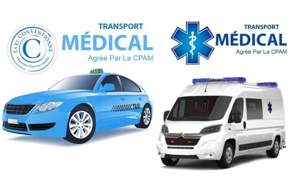 Quelle différence entre un taxi conventionné et une ambulance?